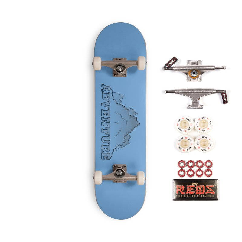 Adventure Accessories Complete - Pro Skateboard by The Wandering Fools