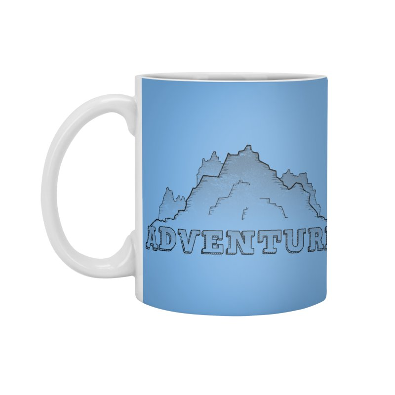 Adventure Accessories Standard Mug by The Wandering Fools