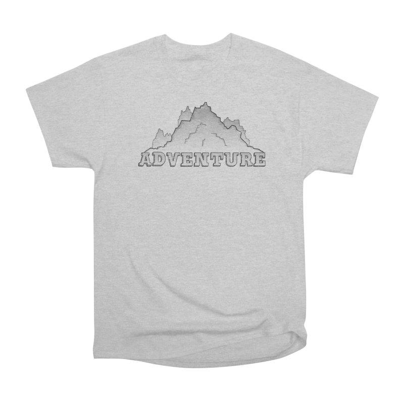 Adventure Women's Heavyweight Unisex T-Shirt by The Wandering Fools