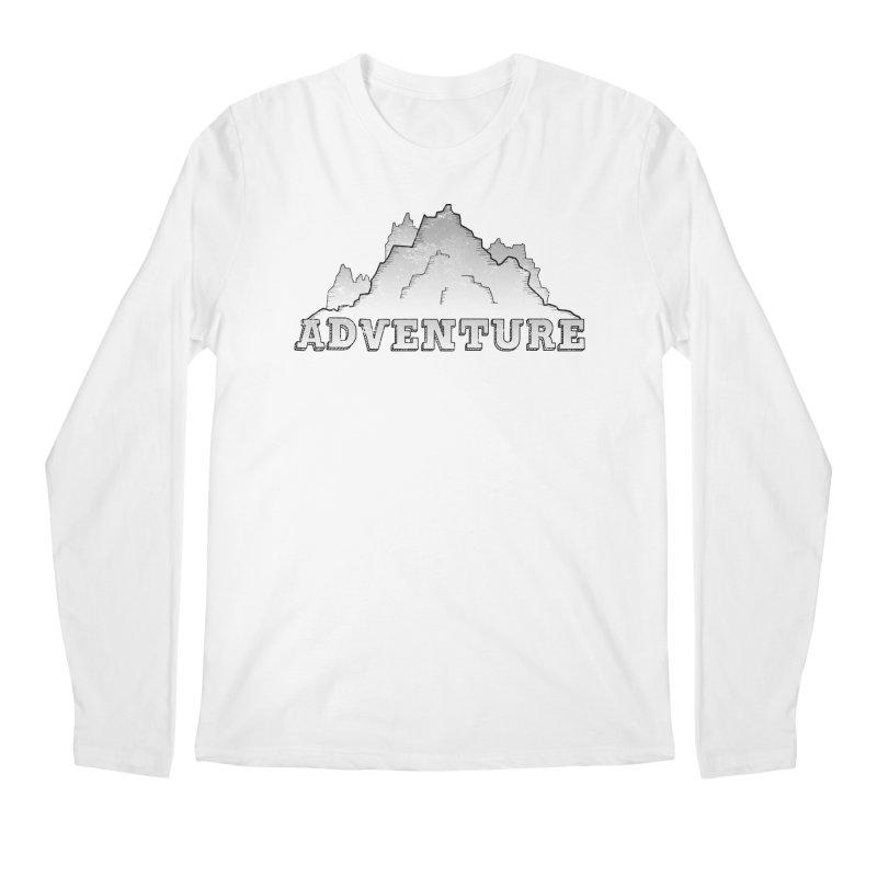 Adventure Men's Regular Longsleeve T-Shirt by The Wandering Fools