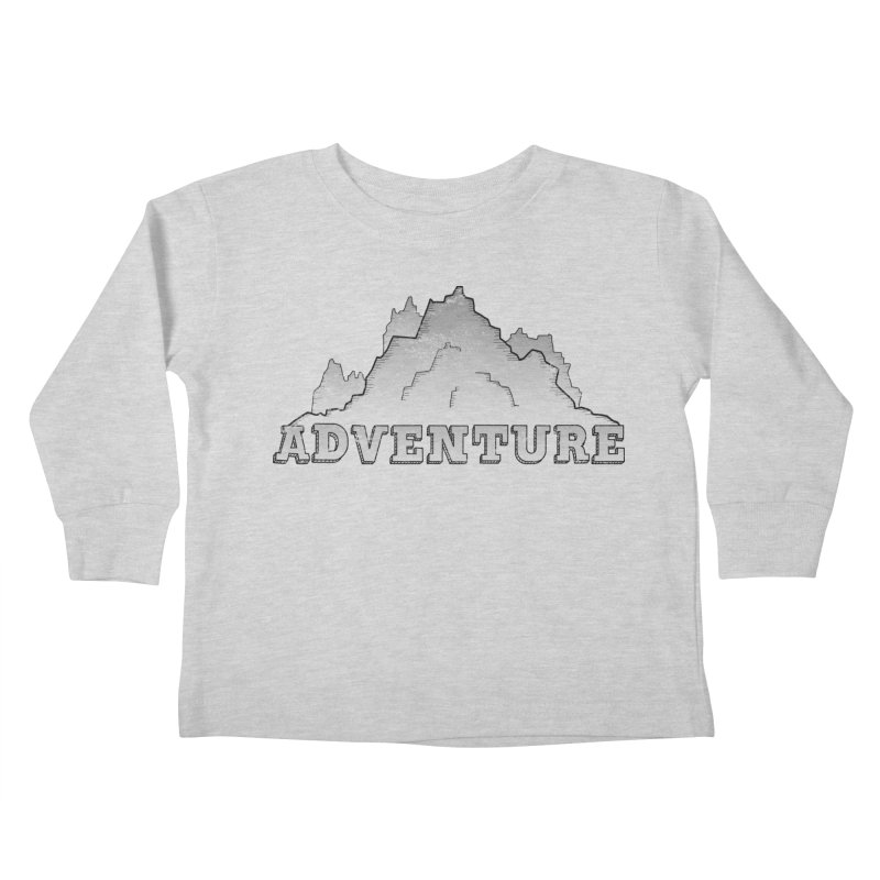 Adventure Kids Toddler Longsleeve T-Shirt by The Wandering Fools