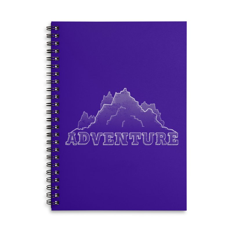 Adventure Accessories Lined Spiral Notebook by The Wandering Fools