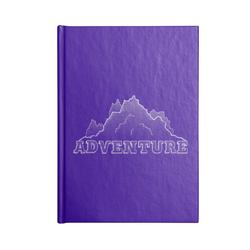 Adventure Accessories Blank Journal Notebook by The Wandering Fools