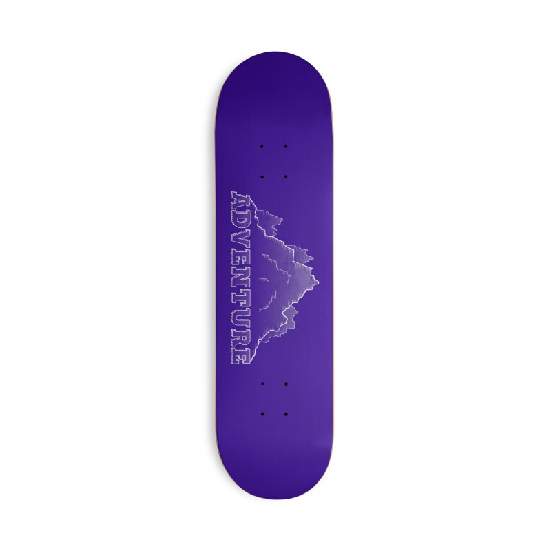 Adventure Accessories Deck Only Skateboard by The Wandering Fools
