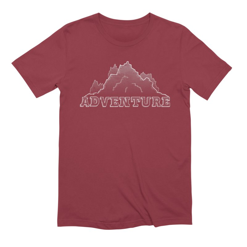 Adventure Men's Extra Soft T-Shirt by The Wandering Fools