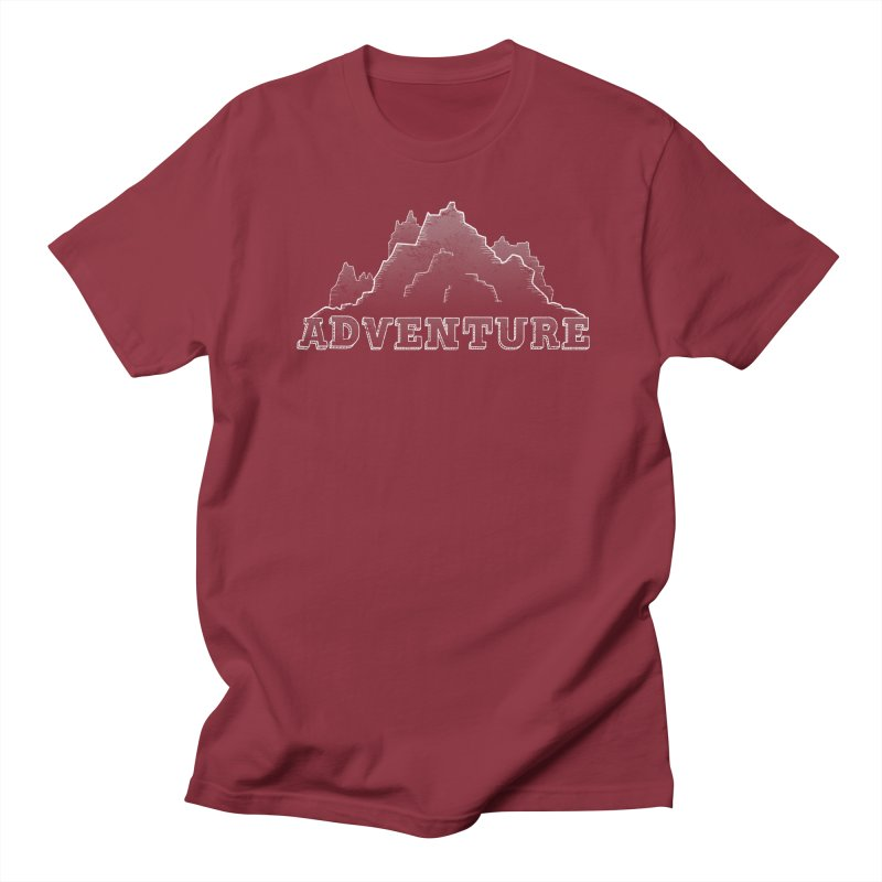Adventure Women's Regular Unisex T-Shirt by The Wandering Fools