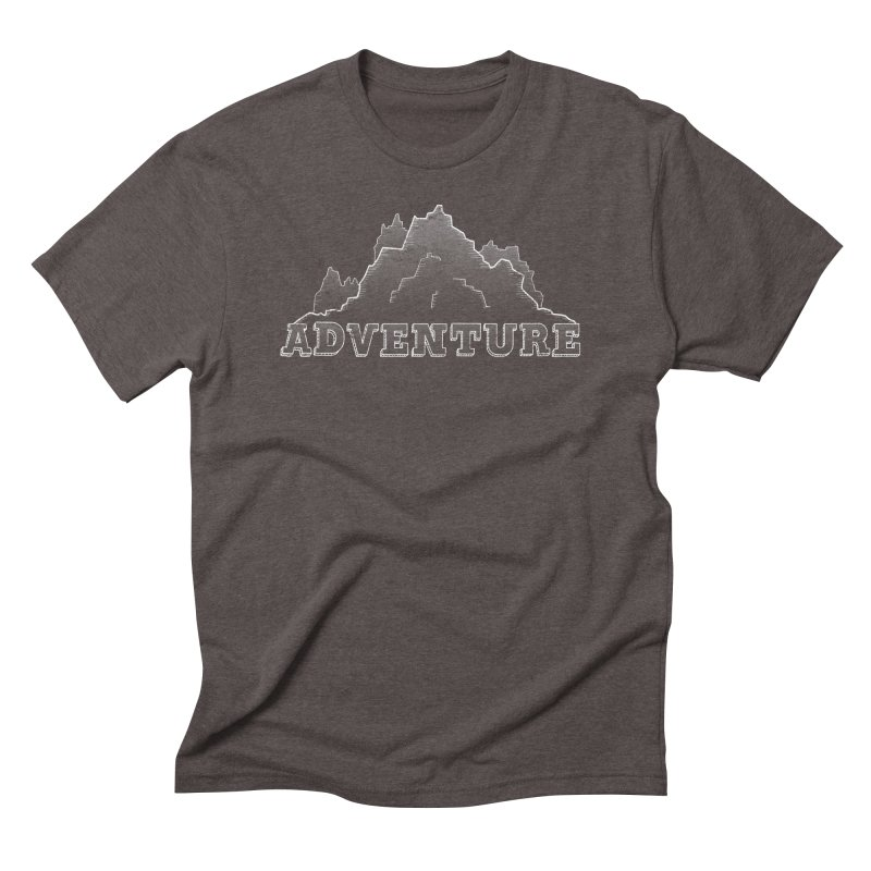 Adventure Men's Triblend T-Shirt by The Wandering Fools
