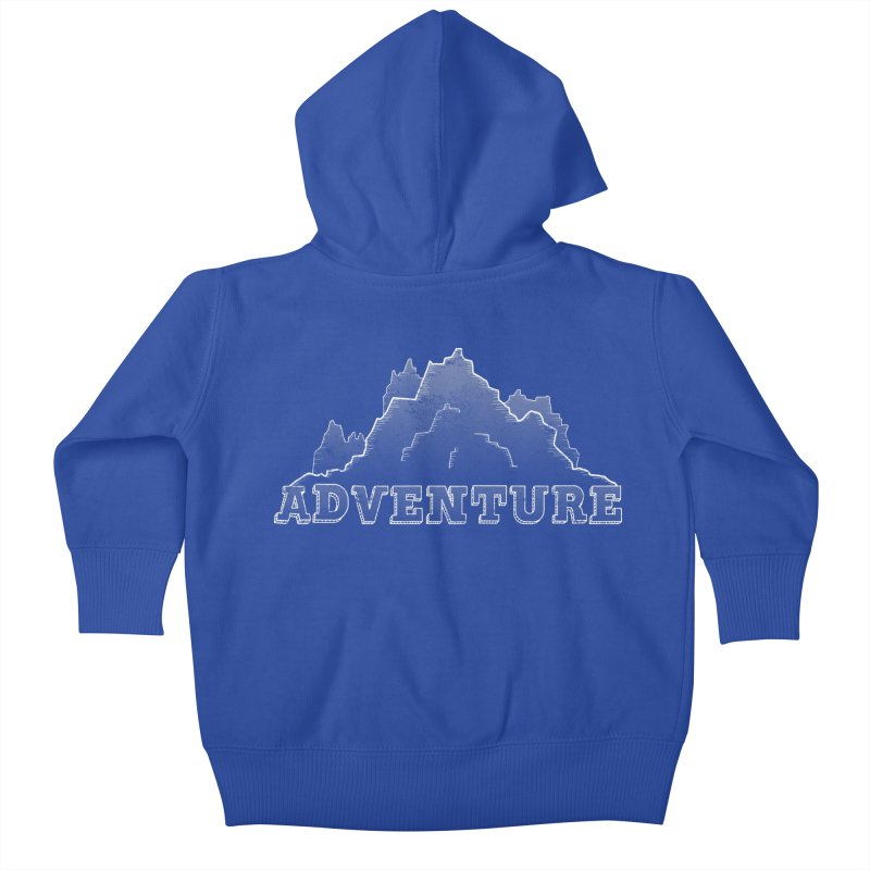 Adventure Kids Baby Zip-Up Hoody by The Wandering Fools