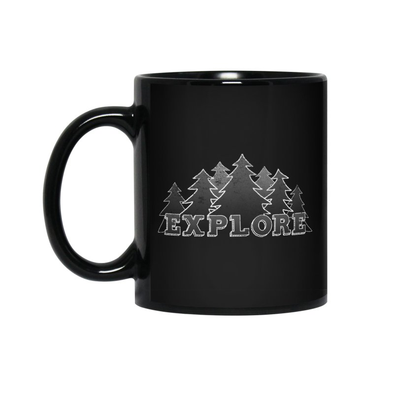 Explore Accessories Standard Mug by The Wandering Fools