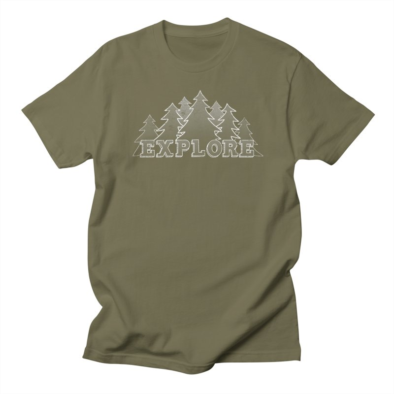 Explore Women's Regular Unisex T-Shirt by The Wandering Fools
