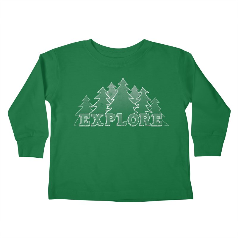 Explore Kids Toddler Longsleeve T-Shirt by The Wandering Fools