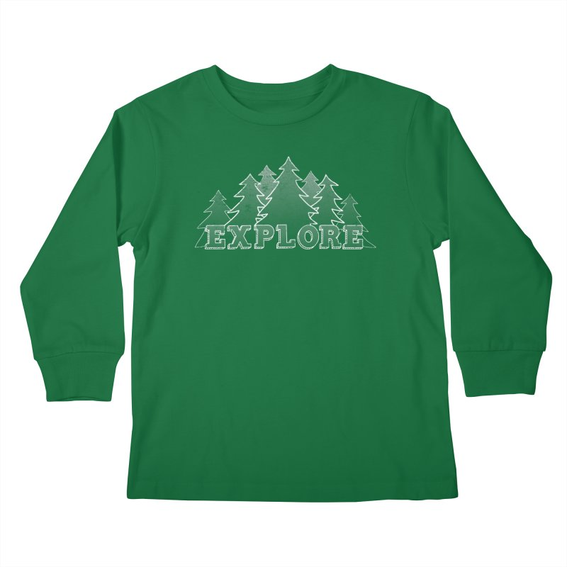 Explore Kids Longsleeve T-Shirt by The Wandering Fools
