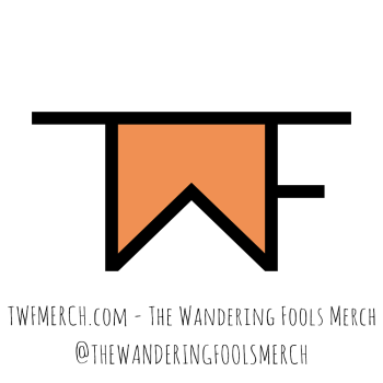 The Wandering Fools Artist Shop Logo