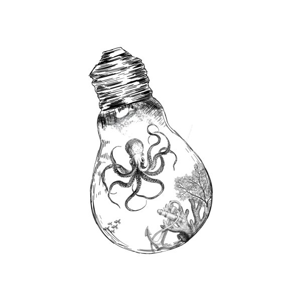 Design for Octopus Bulb Series