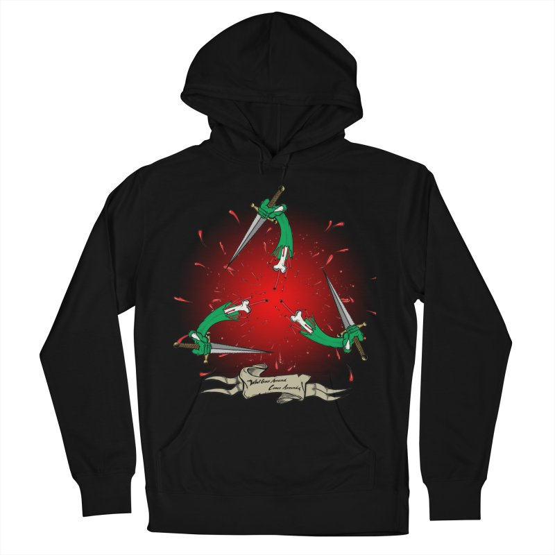 Betrayal (Bloody Version)/ Circle of Violence Series 03 Women's Pullover Hoody by thewayofpk