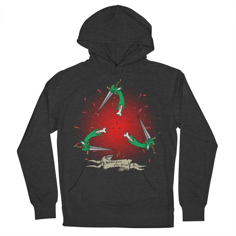Betrayal (Bloody Version)/ Circle of Violence Series 03 Men's Pullover Hoody by thewayofpk - wear 2 scare