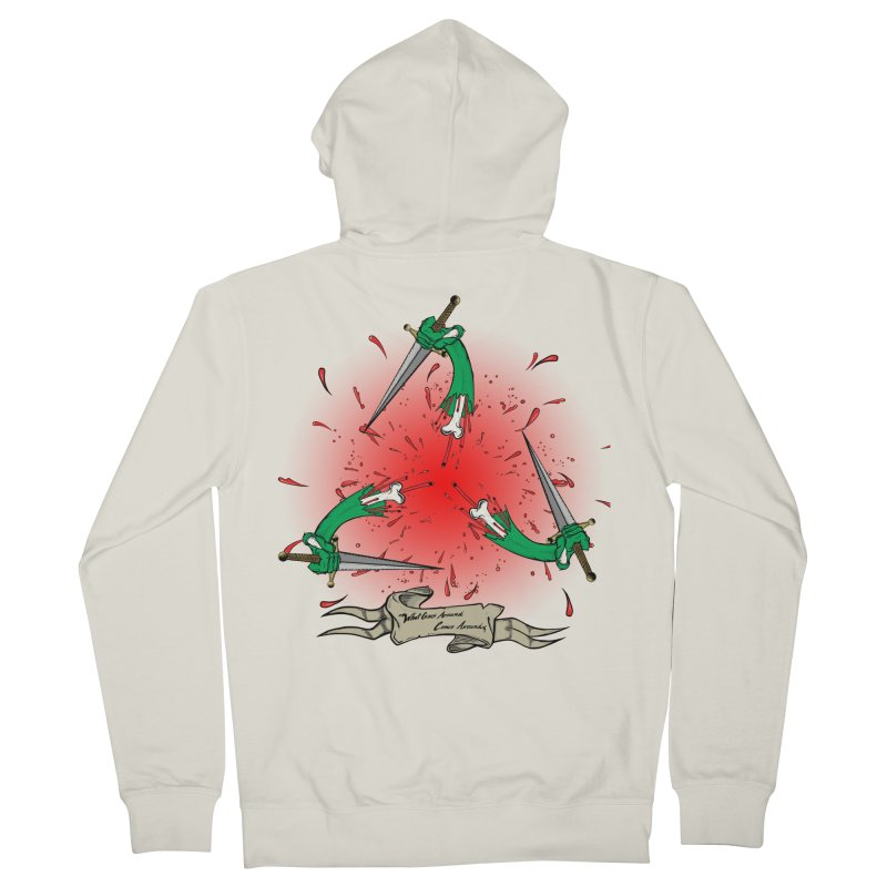 Betrayal (Bloody Version)/ Circle of Violence Series 03 Women's Zip-Up Hoody by thewayofpk - wear 2 scare