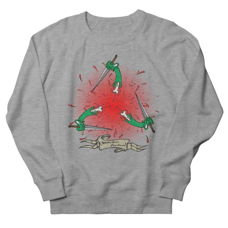 Betrayal (Bloody Version)/ Circle of Violence Series 03 Men's Sweatshirt by thewayofpk - wear 2 scare