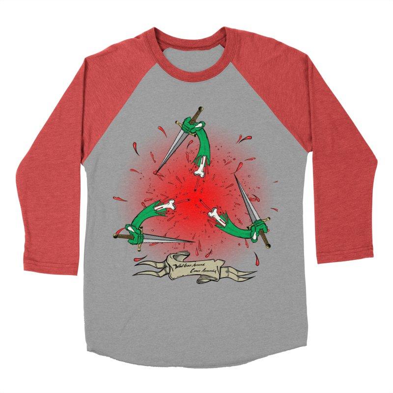 Betrayal (Bloody Version)/ Circle of Violence Series 03 Men's Baseball Triblend T-Shirt by thewayofpk
