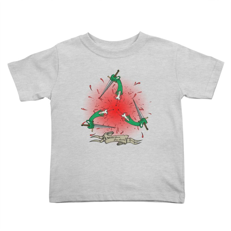 Betrayal (Bloody Version)/ Circle of Violence Series 03 Kids Toddler T-Shirt by thewayofpk