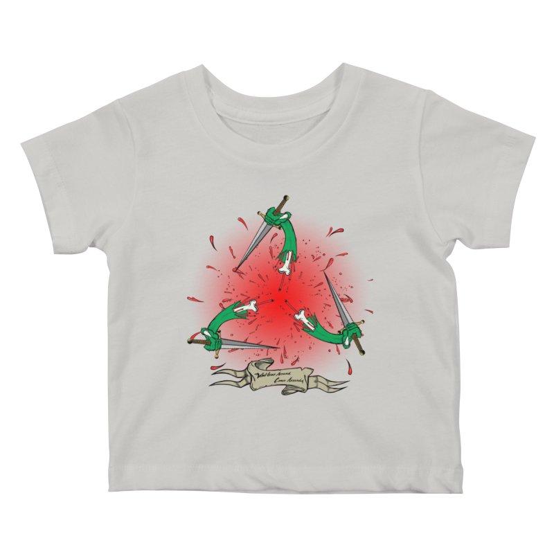 Betrayal (Bloody Version)/ Circle of Violence Series 03 Kids Baby T-Shirt by thewayofpk