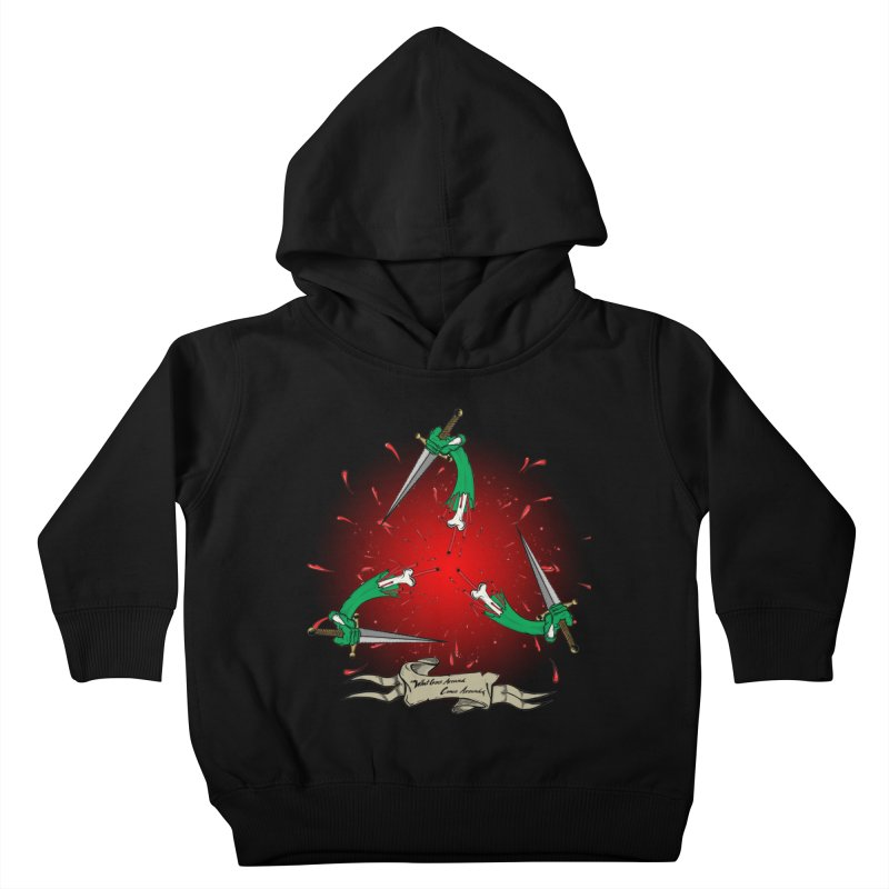 Betrayal (Bloody Version)/ Circle of Violence Series 03 Kids Toddler Pullover Hoody by thewayofpk - wear 2 scare