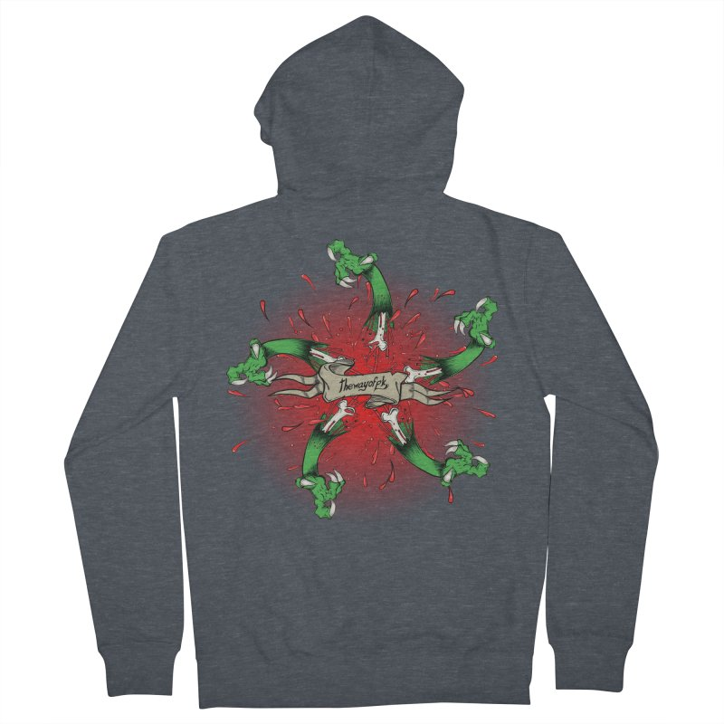 A Brand of Violence/ An end to the Circle of Violence Series Women's Zip-Up Hoody by THEWAYOFPK