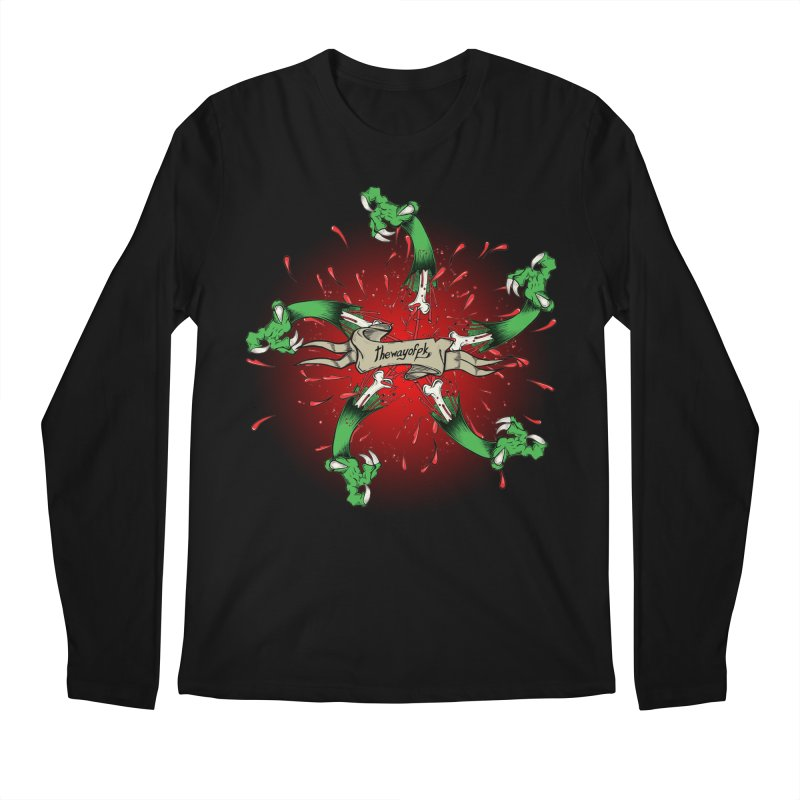 A Brand of Violence/ An end to the Circle of Violence Series Men's Longsleeve T-Shirt by thewayofpk - wear 2 scare