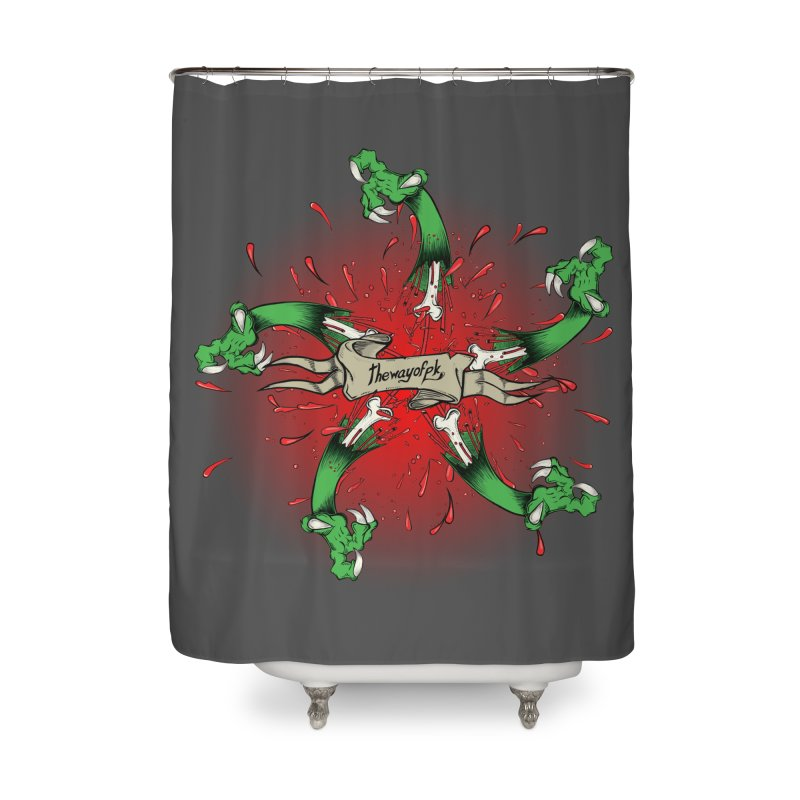 A Brand of Violence/ An end to the Circle of Violence Series Home Shower Curtain by THEWAYOFPK