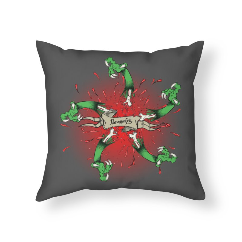 A Brand of Violence/ An end to the Circle of Violence Series Home Throw Pillow by thewayofpk