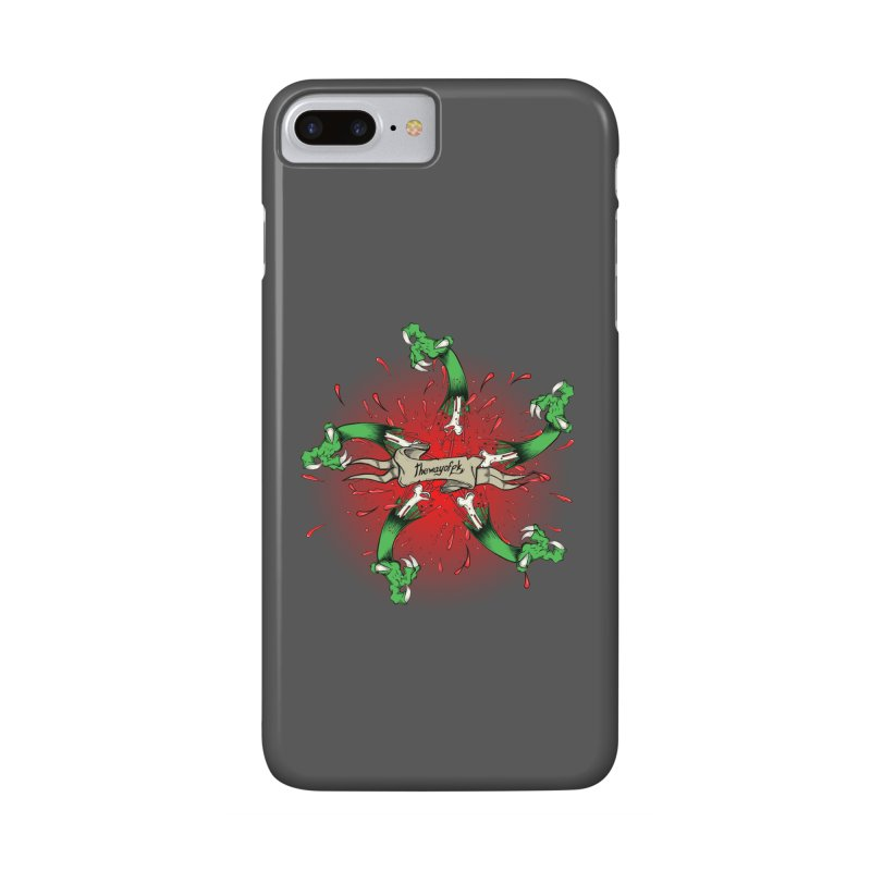 A Brand of Violence/ An end to the Circle of Violence Series Accessories Phone Case by thewayofpk - wear 2 scare