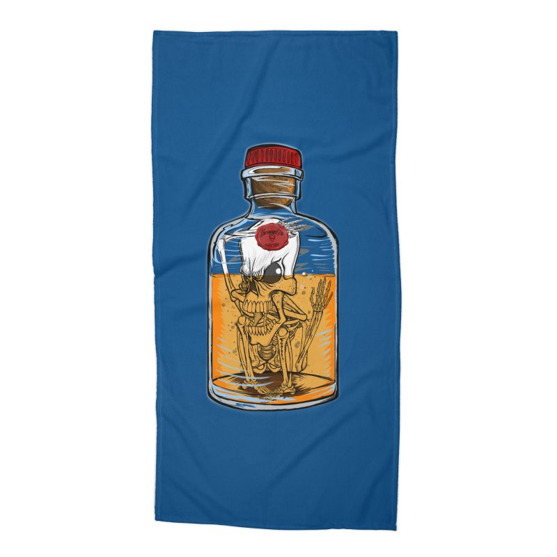 Feeling All Bottled Up Inside... Accessories Beach Towel by thewayofpk - wear 2 scare