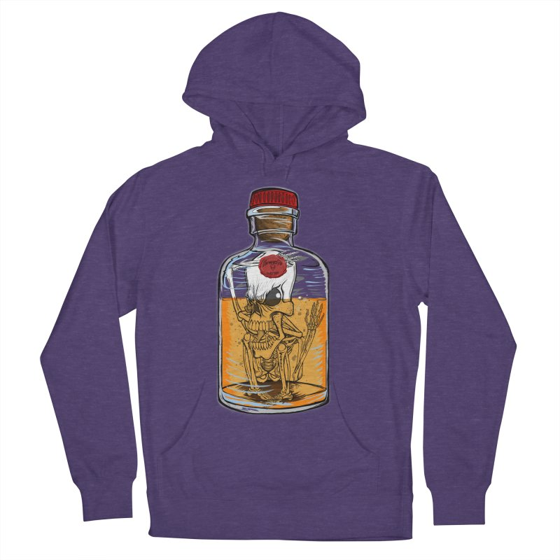 Feeling All Bottled Up Inside... Men's French Terry Pullover Hoody by THEWAYOFPK