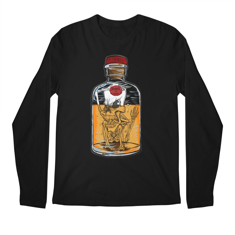 Feeling All Bottled Up Inside... Men's Regular Longsleeve T-Shirt by THEWAYOFPK
