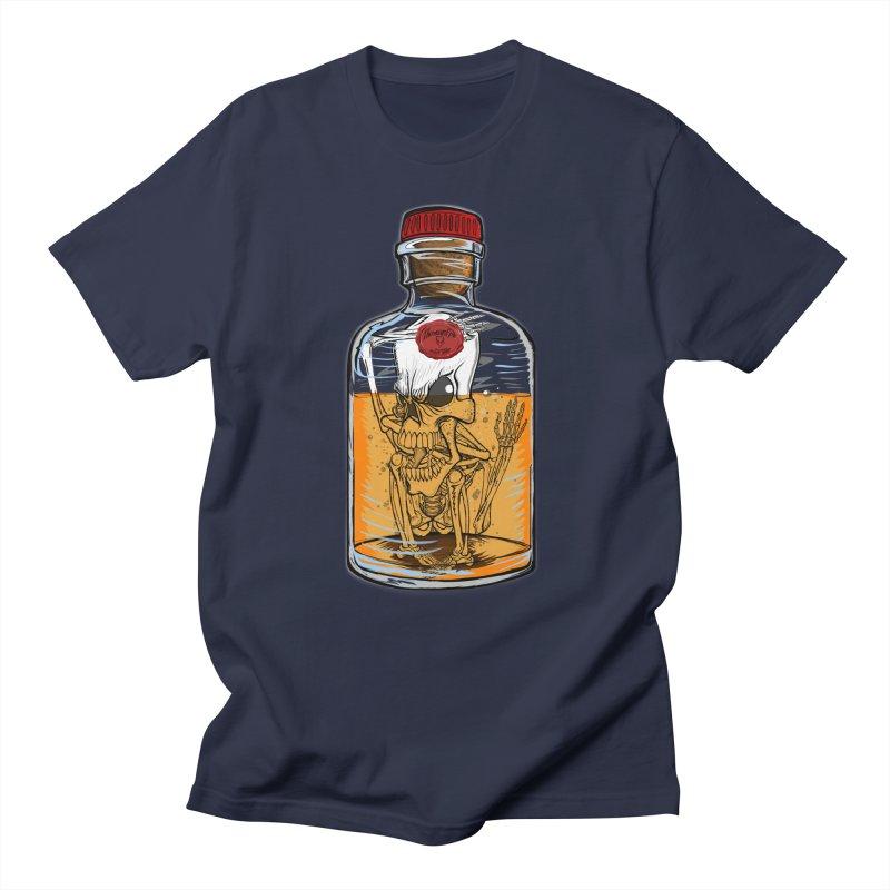 Feeling All Bottled Up Inside... in Men's T-Shirt Navy by THEWAYOFPK