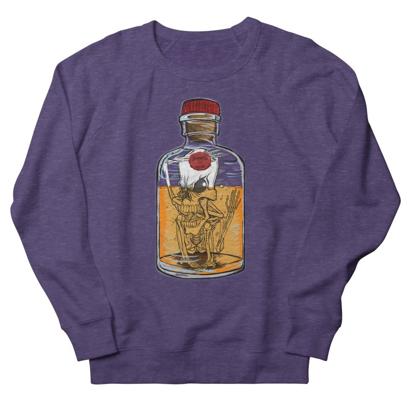 Feeling All Bottled Up Inside... Men's French Terry Sweatshirt by THEWAYOFPK
