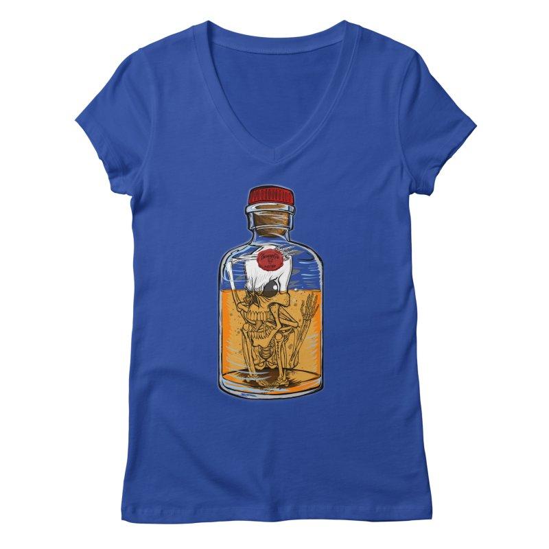Feeling All Bottled Up Inside... Women's V-Neck by THEWAYOFPK