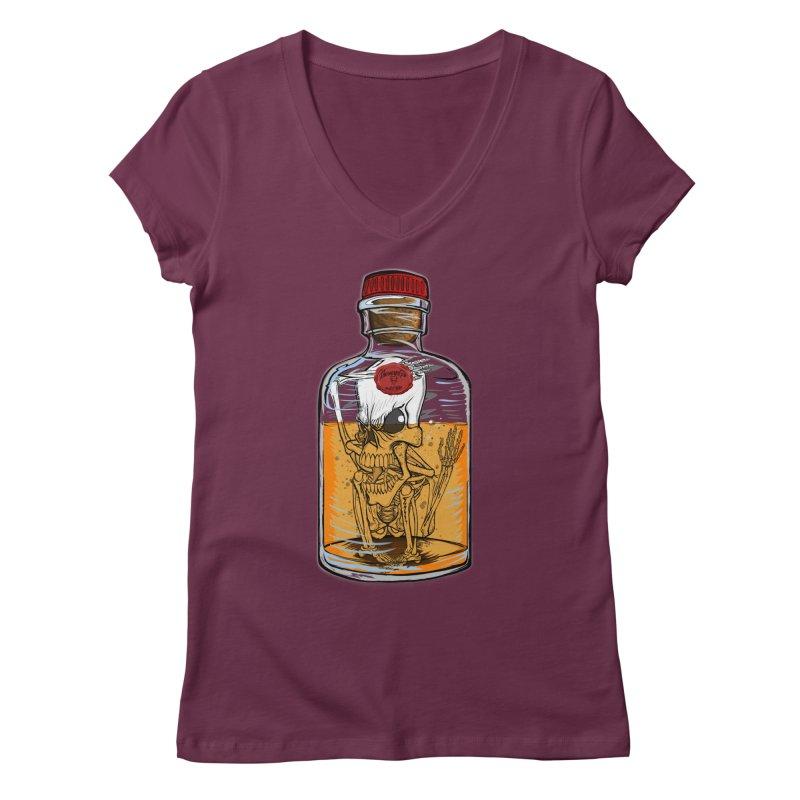Feeling All Bottled Up Inside... Women's Regular V-Neck by THEWAYOFPK
