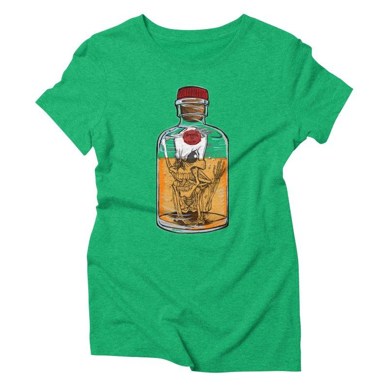 Feeling All Bottled Up Inside... Women's Triblend T-Shirt by THEWAYOFPK