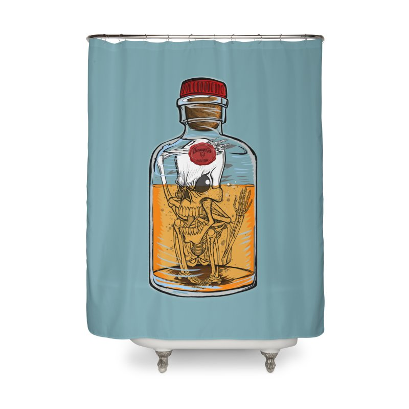 Feeling All Bottled Up Inside... Home Shower Curtain by THEWAYOFPK