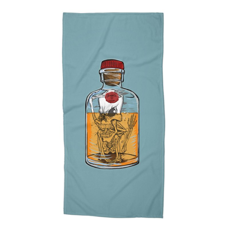 Feeling All Bottled Up Inside... Accessories Beach Towel by THEWAYOFPK