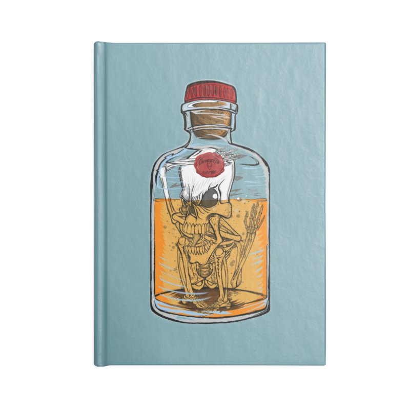Feeling All Bottled Up Inside... Accessories Notebook by THEWAYOFPK