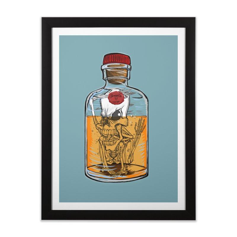 Feeling All Bottled Up Inside... Home Framed Fine Art Print by THEWAYOFPK