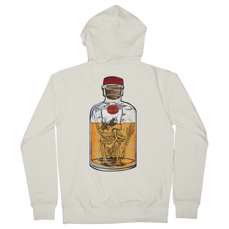 Feeling All Bottled Up Inside... Men's Zip-Up Hoody by thewayofpk - wear 2 scare