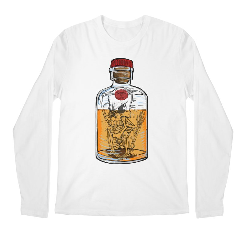 Feeling All Bottled Up Inside... Men's Longsleeve T-Shirt by thewayofpk