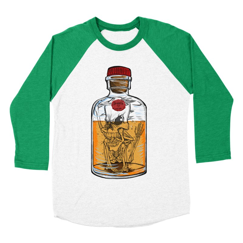 Feeling All Bottled Up Inside... Women's Baseball Triblend T-Shirt by thewayofpk - wear 2 scare