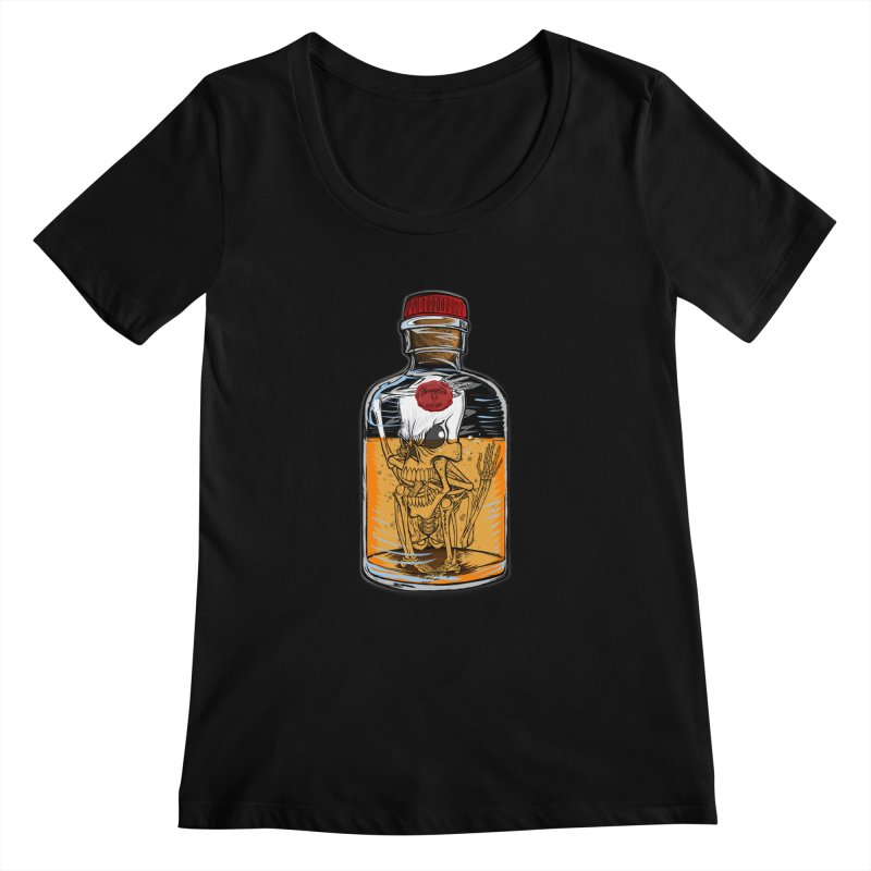Feeling All Bottled Up Inside... Women's Scoopneck by thewayofpk - wear 2 scare