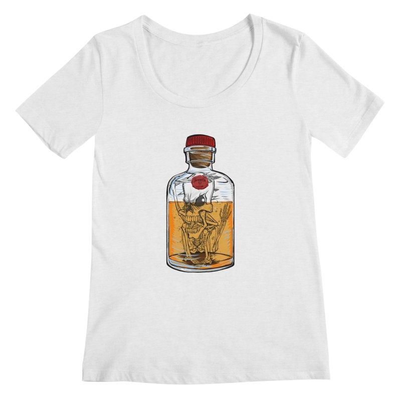 Feeling All Bottled Up Inside... Women's Scoopneck by thewayofpk - wear 2 scare