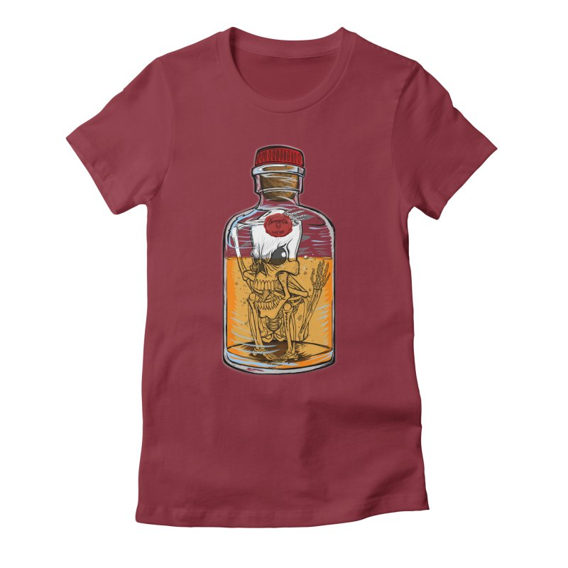 Feeling All Bottled Up Inside... Women's Fitted T-Shirt by thewayofpk