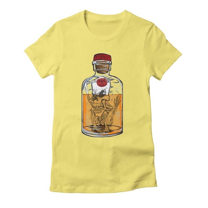 Feeling All Bottled Up Inside... Women's Fitted T-Shirt by thewayofpk - wear 2 scare